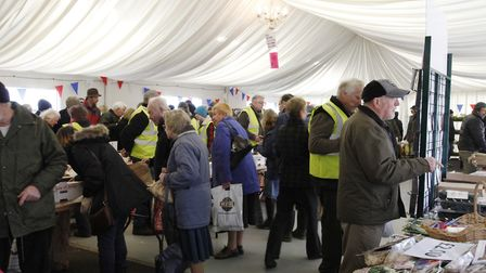 A previous event drawing the crowds at Stonham Barns. A car boot sale is to be held there this sprin