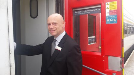 Alan Neville, Greater Anglia. Picture: LUCY WRIGHT