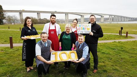 The Suffolk Food Hall team are gearing up for Suffolk Day 2018. Picture: SUFFOLK FOOD HALL
