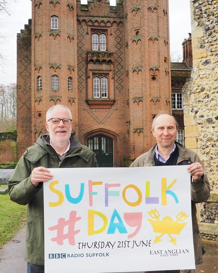 Cllr John Ward, leader of Babergh District Council (right) and Roger Evans, who will be leading a Su