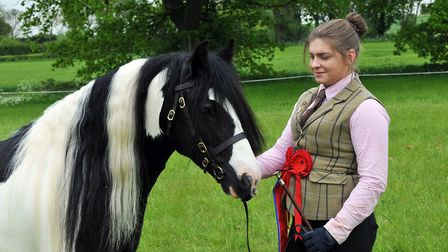 2016 Redwings Show Reserve Champions - Chloe Fulcher and Tilbury's Lad. Picture: N DE BRAUWERE