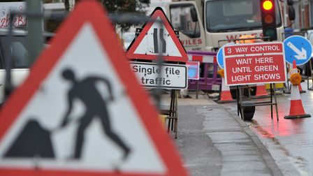 Highways England is to life roadworks in time for Easter. Picture: SARAH LUCY BROWN