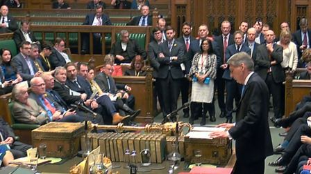 Philip Hammond delivers his first spring statement in the House of Commons