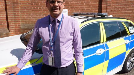 Adam Pipe, Essex Police casualty reduction manager. Picture: ESSEX POLICE