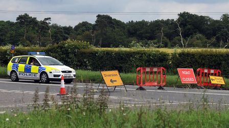 The A1065 has been closed after a lorry crash (stock image). Picture: ARCHANT LIBRARY