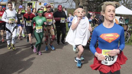 Which superhero will you be? Picture: NIGEL BROWN
