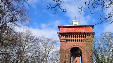 The Jumbo water tower in Colchester. Picture: SARAH LUCY BROWN