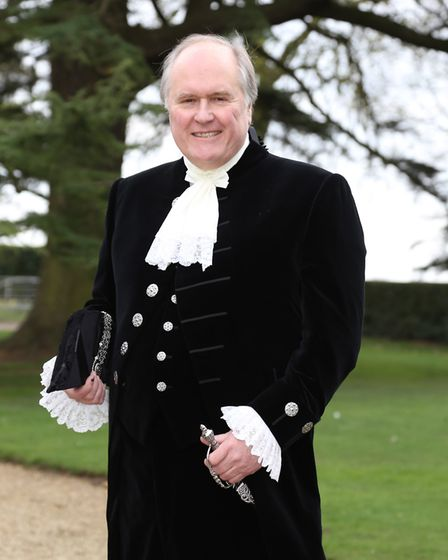 Simon Hall MBE, chairman of the Colchester & North East Essex Buildings Preservation Trust, is also