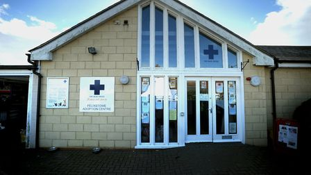 The former Felixstowe Blue Cross centre. Picture: ANDREW PARTRIDGE