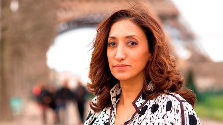 Comedian and writer Shazia Mirza. Picture: MARTIN TWOMEY
