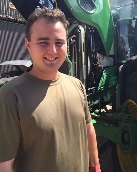 Suffolk Agricultural Apprentice of the Year's first ever winner, Craig Thompson. Picture: JOHN NICE