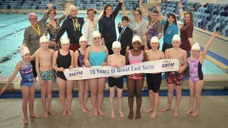 The Great East Swim is celebrating its 10th anniversary. Picture: SARAH LUCY BROWN