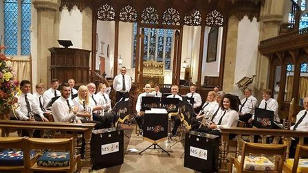 Mid Suffolk Brass will join five other bands from across East Anglia in their tour of Amiens next mo