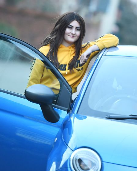 Student Kim Sale said she was 'over the moon'. Picture: GREGG BROWN