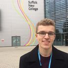 Jordan Barry, president of the Student Union at Suffolk New College. Picture: SUFFOLK NEW COLLEGE