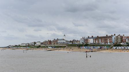 A view of Southwold on a cloudy day. Picture: SARAH LUCY BROWN