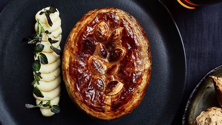Thomas Bushell, executive chef of The Marquis in Layham has developed three limited edition pies for