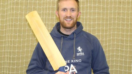 Adam Ball, has signed to play Minor Counties cricket for Suffolk this year.