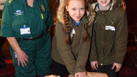 Kids take part in Crucial Crew event at Mildenhall Stadium. Picture: GREGG BROWN