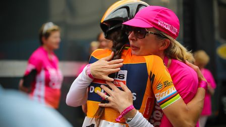 This year, members of the public will be invited to ride part of the route to raise money for Breast