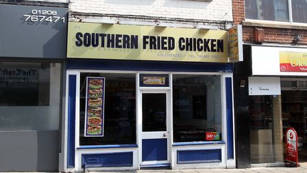 Southern fried chicken shop in, St Botolphs, Colchester. Picture: STEVE ARGENT