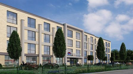 CGI of the new Travelodge. Picture: SUPPLIED BY NHP HOLDINGS