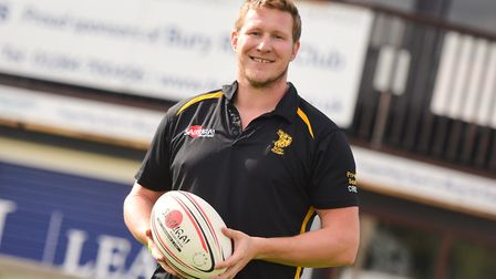 Ollie Smith, appointed Bury St Edmunds head coach last summer, has stood down from his role. Picture