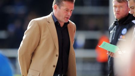 Graham Westley, who is trying to guide Barnet away from the relegation zone. His Bees side take on C