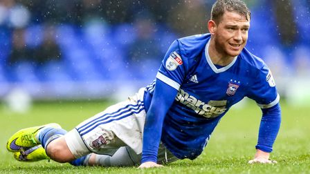 Garner has been struggling with a kneee injury. Picture: STEVE WALLER
