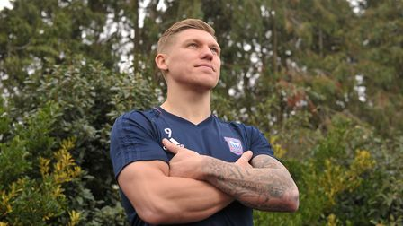 Waghorn is the next cover star for the upcoming edition of Kings of Anglia magazine. Picture: SARAH