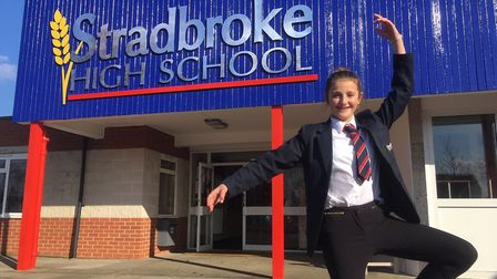 Daisy Shearman from Stradbroke High School has been chosen to perform with a professional ballet com