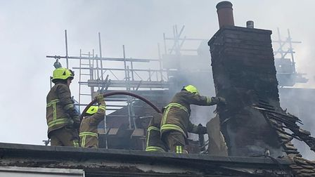 Halstead Wine Bar Fire. Picture: ESSEX COUNTY FIRE AND RESCUE SERVICE