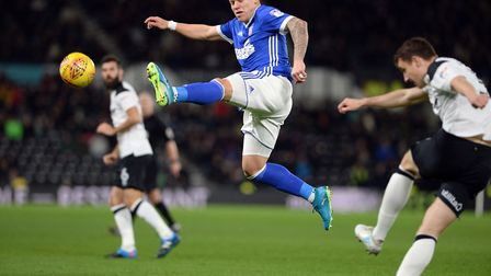 Martyn Waghorn, who hasn't scored in 13 starts, was used as a substitute in midweek. Photo: Pagepix