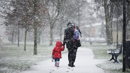 East Anglia is braced for the coldest week of winter. Picture: ANTONY KELLY