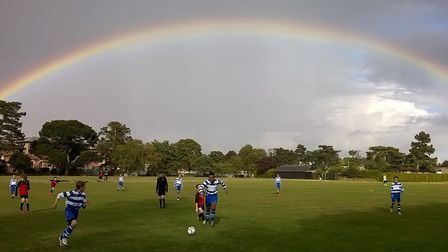 Andy Pearce's entry that was selected as the winner of last season's Grassroots Football competition