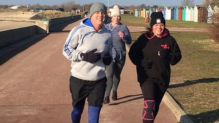 It was a cold morning down at the seaside for the weekly Harwich parkrun, so it was wise to wrap-up
