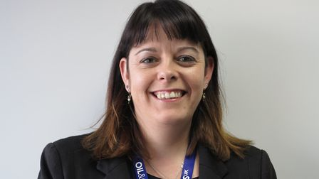 Dr Mariesha Jaffray, Oil & Gas UK's continuous improvement manager.