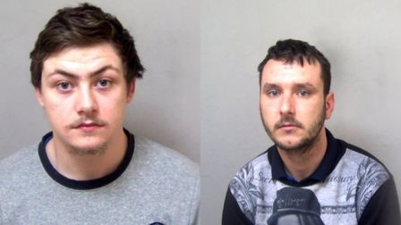 L-R Lewis Wild and Thomas Turner. Picture: ESSEX POLICE