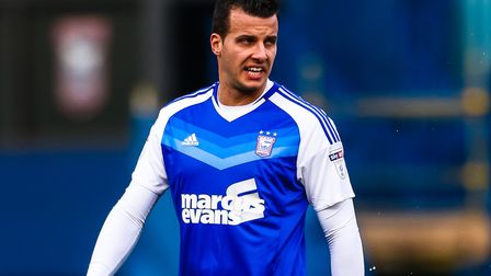 Taylor's time at Portman Road was disrupted by injury. Picture: STEVE WALLER