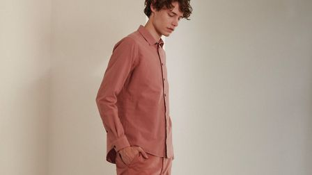 Pink shirt �79 and chinos �79. Picture: JIGSAW
