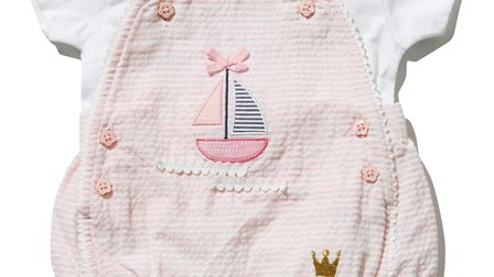 M&CCo dashing and dainty body suit from �16 - this for wee girls or boys. Picture: M AND CO