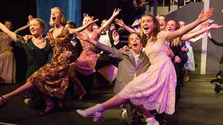 Woodbridge School pupils creating a stunning performance of The Sound of Music. Arts subjects boost