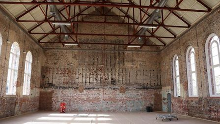 An interior shot of the restored Garrison Gym. Picture: COLCHESTER BOROUGH COUNCIL