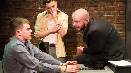The Pillowman by New Wolsey Young Company. Photo: Mike Kwasniak