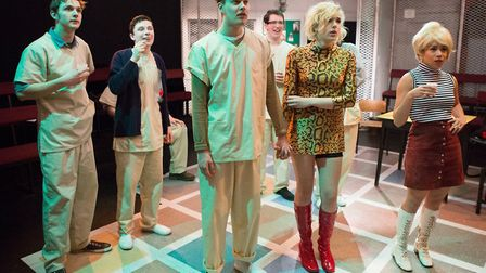 One Flew Over The Cuckoo's Nest staged by New Wolsey Young Company. Photo: Mike Kwasniak