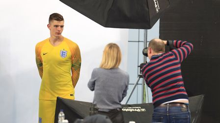 Former Ipswich youngster and Bury Town player Nick Pope has been called into the England squad for t
