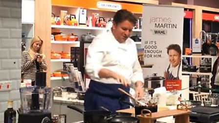 James Martin visited Fenwicks in Colchester. Picture: ARCHANT