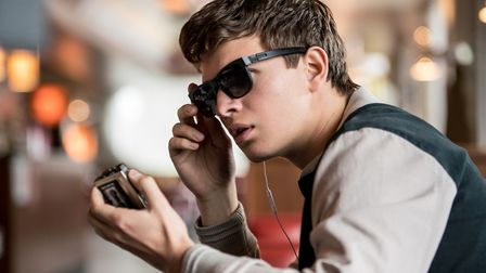 Baby (Ansel Elgort) in Baby Driver. Picture: SONY PICTURES / WILSON WEBB
