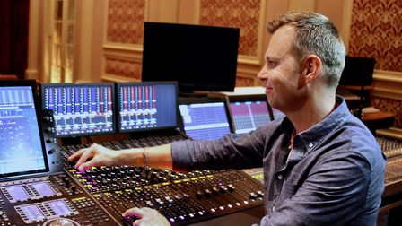 Baby Driver's sound designer Julian Slater. Picture: IMPACT 24 / ANDRE RESNICK