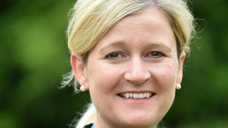 Amanda Lyes, chief corporate services officer for Suffolk CCGs. Picture: NHS IPSWICH AND EAST SUFFOL